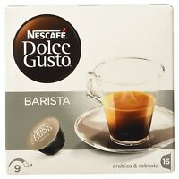 Dolce Gusto Espresso Barista Coffee (6 Boxes,total 96 Capsules ) 96 Servings