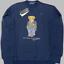 miniatuur 9 - Brand-New-Mens-Ralph-Lauren-Teddy-Bear-Sweatshirt-039-s