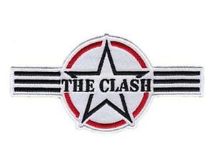 OFFICIAL-LICENSED-THE-CLASH-AIR-FORCE-LOGO-WOVEN-SEW-ON-PATCH-PUNK-STRUMMER