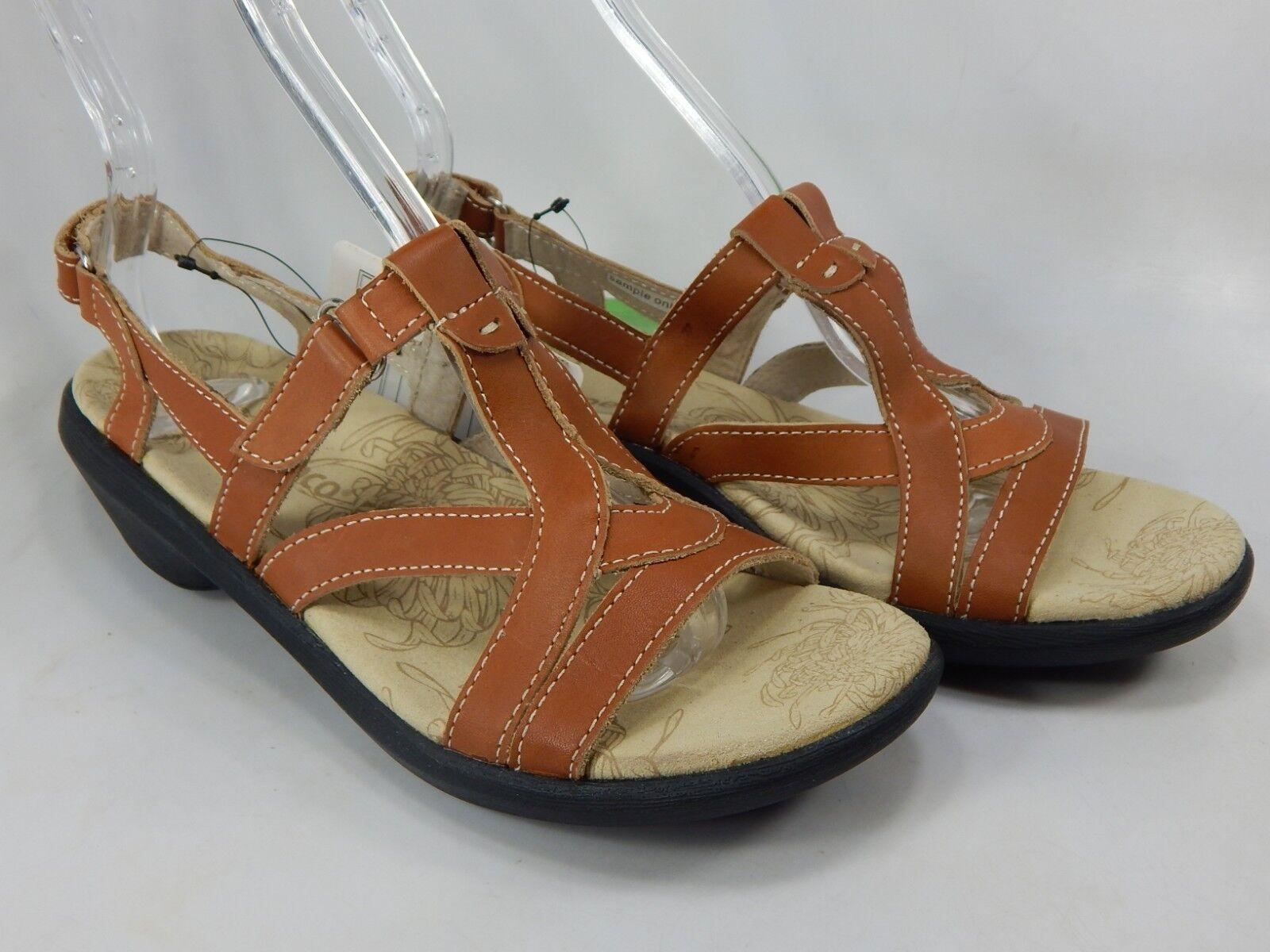 Spenco Charlotte Size 7 M (B) Women's Dress Casual Leather Strap Sandals