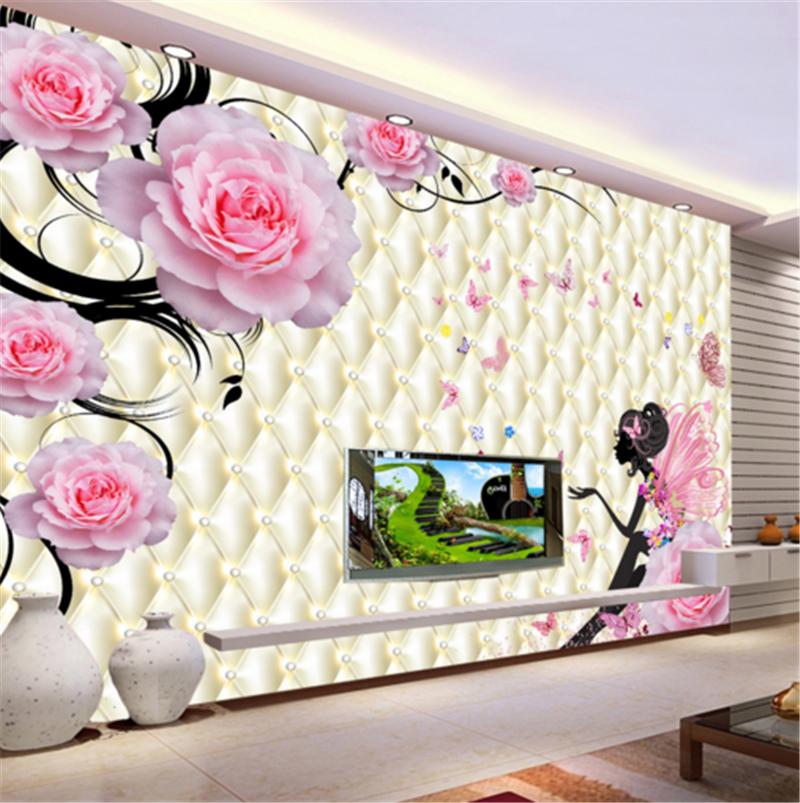 3D Flower Fairy Butterfly 8 Wallpaper Mural Paper Wall Print Wallpaper Murals UK