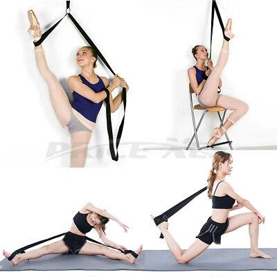 Protable Stretching Leg Bands for Yoga Dance Gymnastics Trainer MMA Training