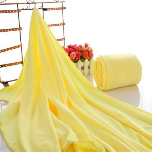 US Microfiber Towel Sport Gym Bath Quick Dry Travel Swimming Camping Beach Towel