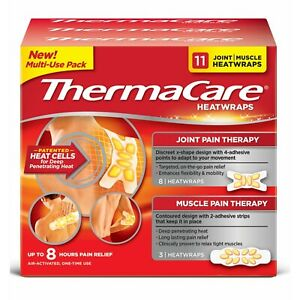 ThermaCare-HeatWraps-8-Hour-Joint-amp-Muscle-Pain-Relief-Multi-Purpose-11ct-Pack