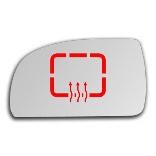 Links Fahrerseite Spiegelglas Beheizbar für Kia Carens 1999-2006