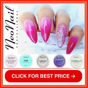 NeoNail-Arielle-Moonlight-Chrome-Mermaid-Effect-Nail-Powder-Dust-Art-Nails