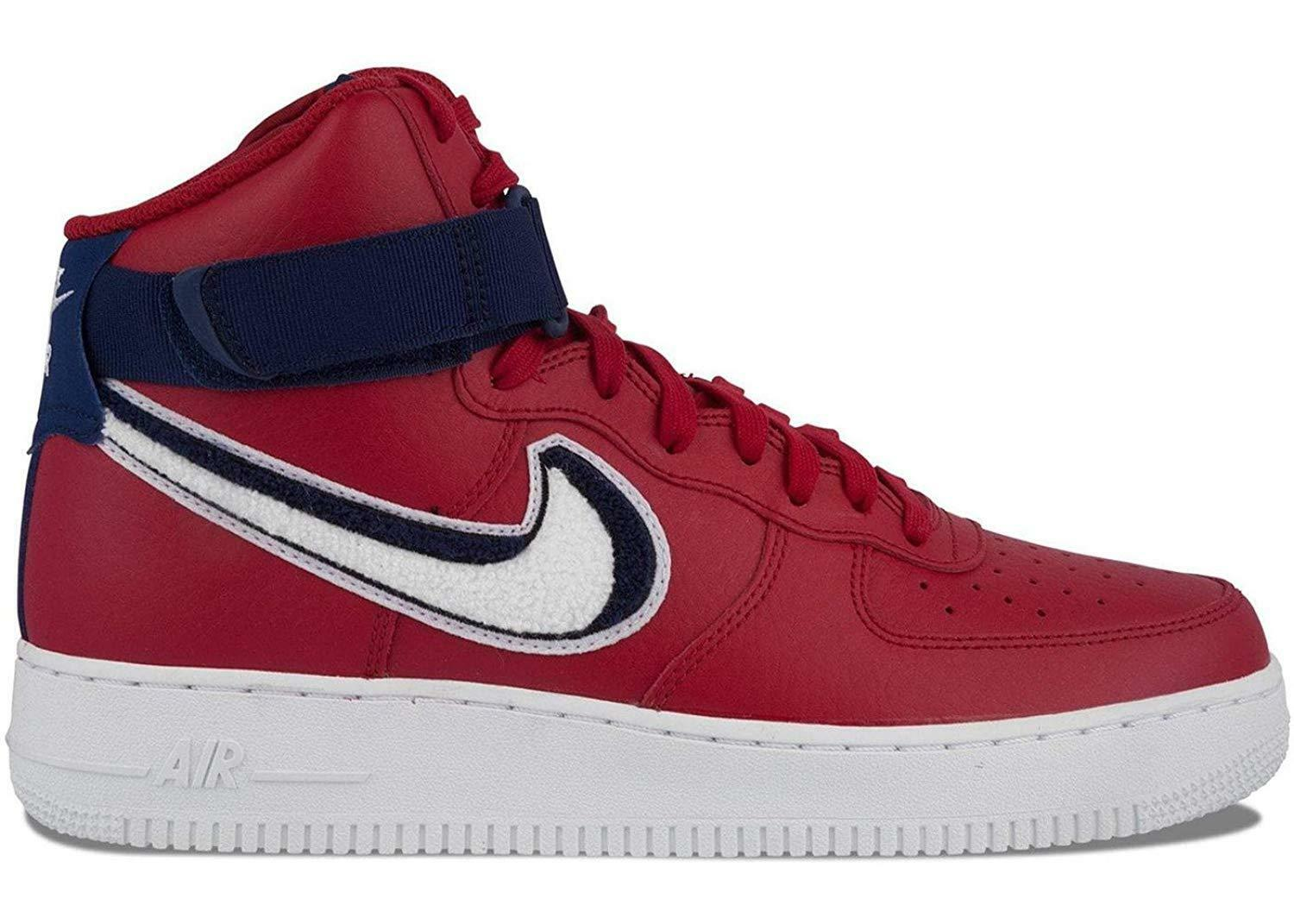 Nike Air Force 1 High '07 LV8 Gym Red/White-Blue Void-White Price reduction Brand discount