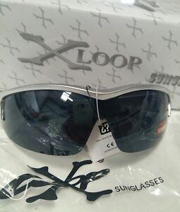 X-Loop-Cycling-Sport-Sunglasses-Silver