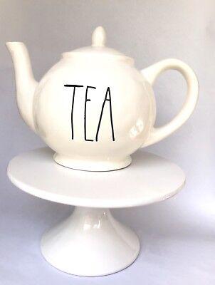 RAE DUNN by MAGENTA TEA TEAPOT WITH LID LL FARMHOUSE *HTF* NEW!