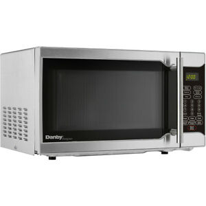 Danby-0-7-Cu-Ft-700W-Countertop-Microwave-w-10-Power-Levels-Stainless-Steel