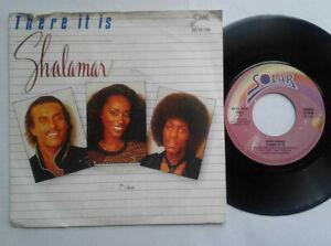 "Shalamar / There It Is 7"" Vinyl Single 1982 mit Schutzhülle"