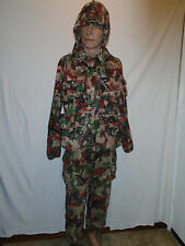 1976 VINTAGE SWISS ALPINE ALPENFLAGE CAMO HUNTING MILITARY SET