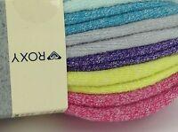 Women's Roxy Brand Colors Low Cut Socks - 6 Pack - $36 Msrp - 25% Off