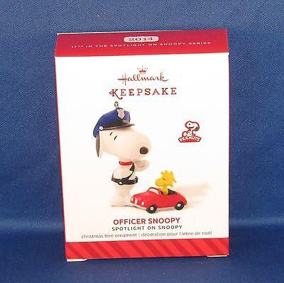 Hallmark - 2014 Officer Snoopy Spotlight On #17 - Keepsake Christmas Ornament
