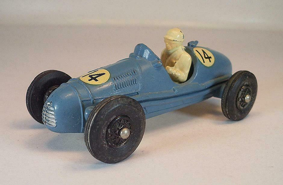Crescent Toy Gordini 2,5 litre grandprix Racing Car blu nº 14 1