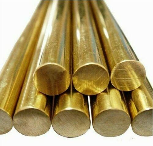 Brass Round solid bar Model making 50mm 4mm -/> 30mm Diameter 375mm Length.