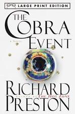 The Cobra Event (Random House Large Print) Preston, Richard Paperback