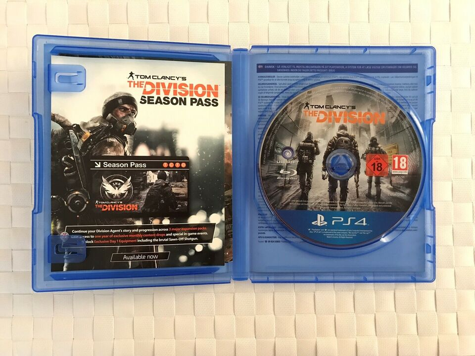 The Division, PS4, action
