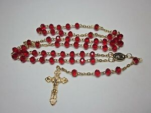 Homemade Rosaries Made From Swarovski