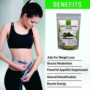 Green Coffee Beans Powder For Weight Loss 200 G Natural Weight