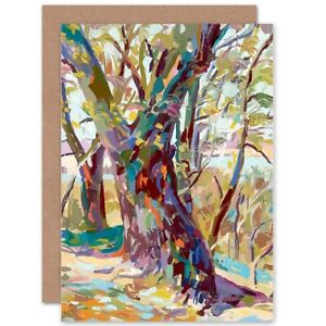 Abstract-Tree-Forest-Impressionist-Blank-Greeting-Card-With-Envelope