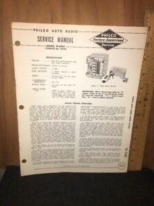 Philco-Radio-Original-Service-Manual-M-5944