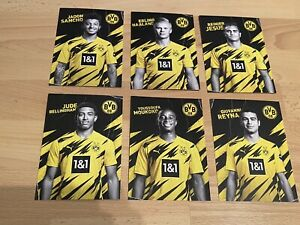 ROOKIE CARD Youssoufa Moukoko, Reyna, Bellingham, Sancho & Haaland BVB 20 / 21