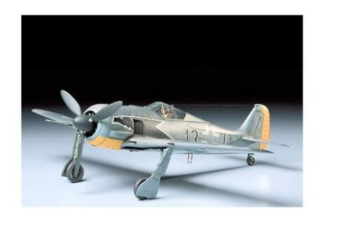Neu Luftwaffe Tamiya 61037-1//48 Deutsche Focke-Wulf Fw190 A-3