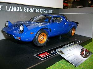 Lancia Stratos Stradale 1975 Street Bleu 1/18 Sun Star 4562 Voiture Miniature