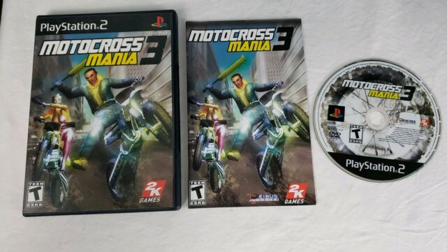 Motocross Mania 2 Ps2 Playstation 2 Video Game Near Mint Ebay