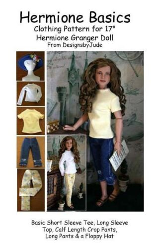 Basics Doll Clothes Sewing Pattern  Hermione /& Nancy Drew Tonner