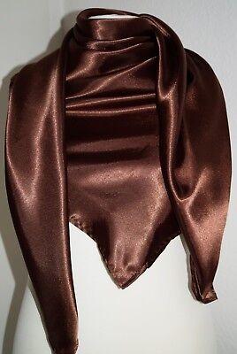 Tuch super großes Satintuch 150x150 cm Halstuch Kopftuch