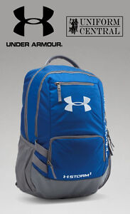ff01a58baa5f Details about New Under Armour UA Storm Hustle II Blue Tactical Backpack -  1263964