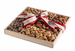 The Nuttery Deluxe Freshly Roasted & Salted Nuts Classic Gift Basket