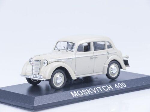 Modèle à l/'échelle 1//43 MOSKVICH 400