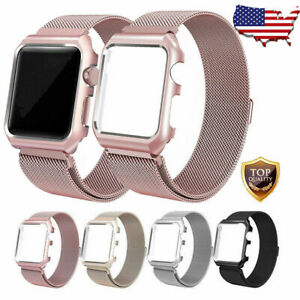 For Apple Watch Series 5 4 3 Milanese Stainless Steel Band Strap 38 42 40 44mm Ebay