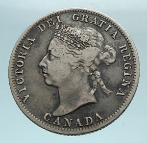 E884 vintage coins 19121917 Canada sterling Silver 25 cents 1920 .800 silver 100 years old