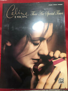 Celine Dion: These Are Special Times: Piano/Vocal/Chords Music Book Christmas 9780739054000 | eBay