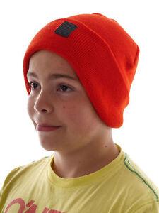 Beliebte Marke Brunotti Beanie Mütze Wintermütze Kelener Rot Logo Elastisch Ausgereifte Technologien Kleidung & Accessoires