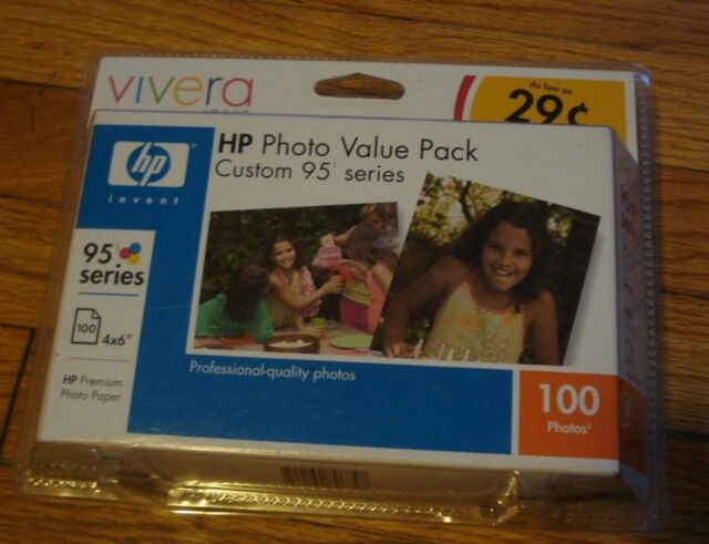 HP PHOTO VALUE PACK 95 TRI-COLOR INJET CARTRIDGE SEALED BOX
