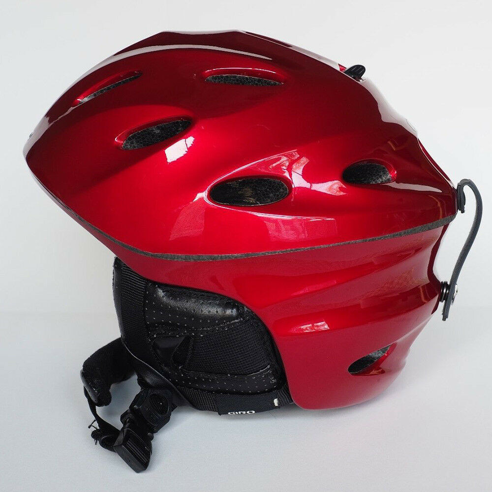 Giro Fuse Winter Sports Helmet Metallic Red Size M Medium Brand New in Box