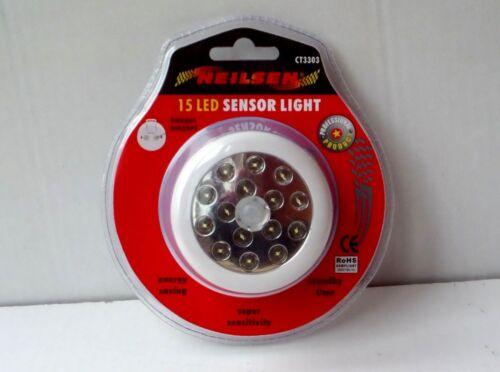 Neilson  15 LED MOTION MOVEMENT SENSOR SECURITY LIGHT GARDEN HOME