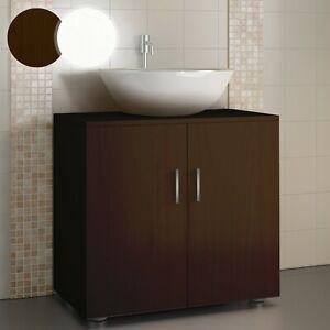 Meuble Salle De Bain Sous Lavabo Vasque Rangement Armoire Toilette