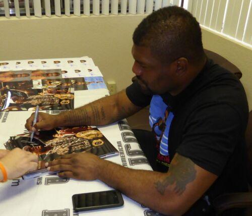 Quinton Rampage Jackson Signed UFC 71 11x14 Photo PSA//DNA COA Picture Autograph