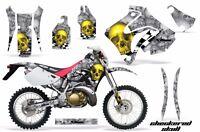 Honda Graphic Kit Amr Racing Bike Decal Crm 250ar Decal Mx Part All Chk Skull S