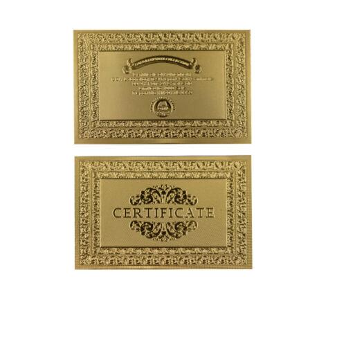 10pcs 24k Gold Plated Zimbabwe Gold Banknote One Hundred Decillion Money Gifts