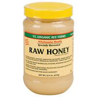 Ys Royal Jelly/honey Bee Raw Honey - 22 Oz Honey