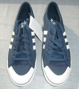 23 Weiß Originals UK 44 Turnschuhe Gr44 NEU Nizza Details Sneaker 5 Adidas 10 Blau zu 5RALqj34
