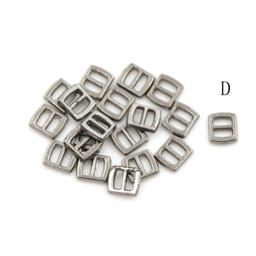 10pcs Mini Metal Buckle DIY Doll Dress Patchwork Handmade Craft Sewing Accessory