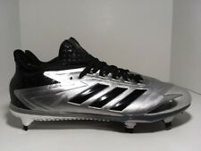 separation shoes bb010 2b38f Adidas Adizero Afterburner 4 Faded Black BY3677 Men s Baseball Cleats Size  11.5